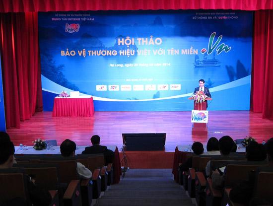 Hội thảo bảo vệ thương hiệu trên Internet tại Quảng Ninh