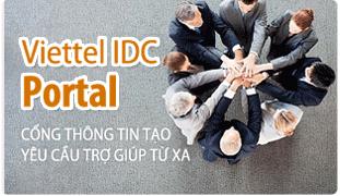 Hỗ trợ Viettel IDC