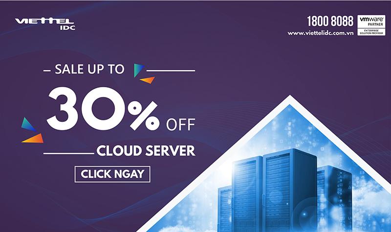 Khuyến mãi Cloud Server
