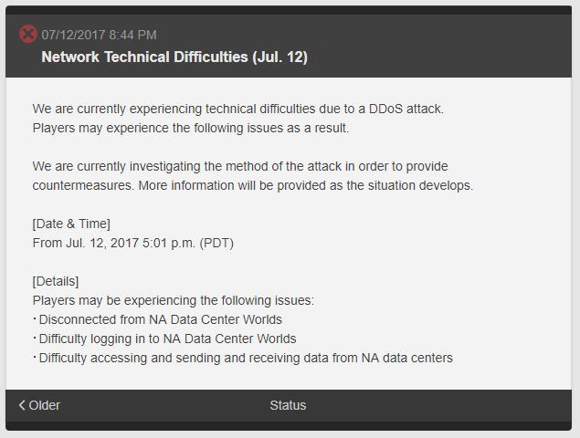 Các hãng Game Online lớn bị tấn công DDOS như thế nào?